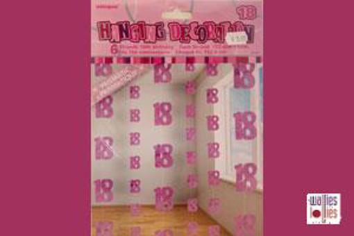 18th Pink Hanging Decoration