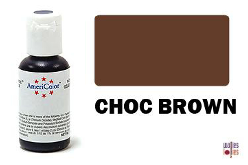 Americolor Gel Paste - Choc Brown