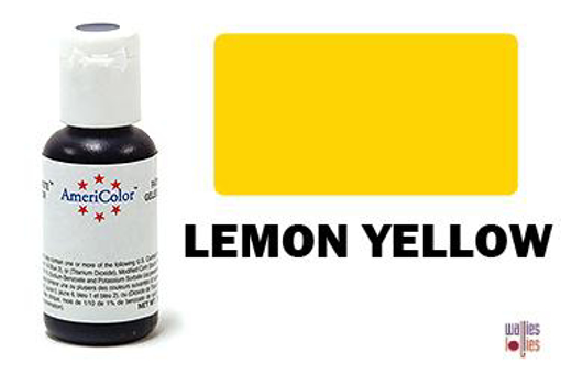Americolor Gel Paste - Lemon Yellow