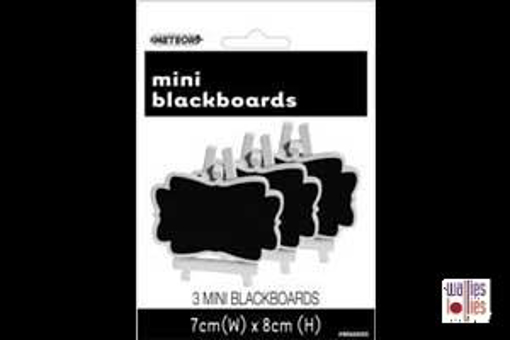 Black Mini Chalkboards