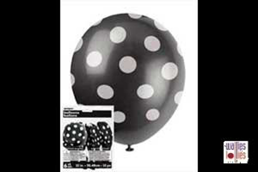 Black Spot Balloons