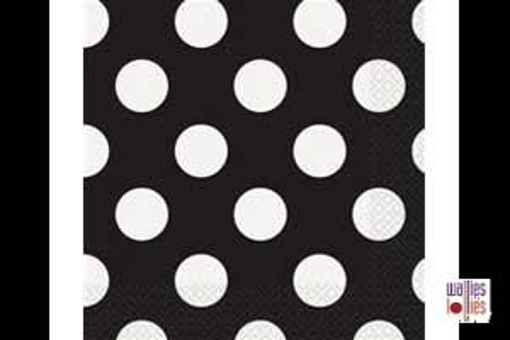 Black Spot Napkins