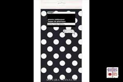 Black Spot Table Cloth