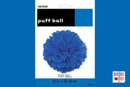 Blue Small Puff Ball