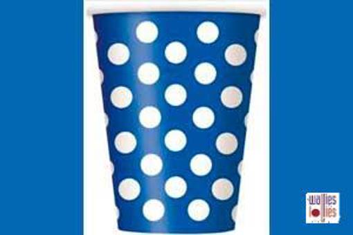 Blue Spot Cups