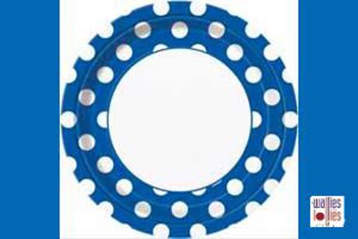 Blue Spot Large Plates