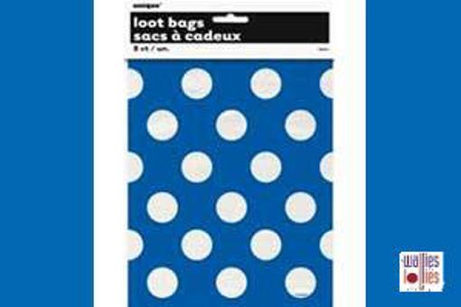 Blue Spot Loot Bags