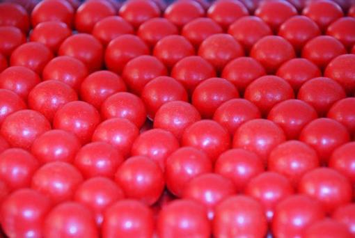 Choc Orange Balls (jaffa copy) in 1kg bag