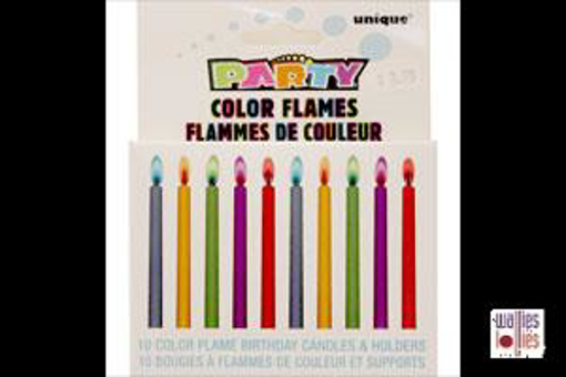 Colour Flame Candles