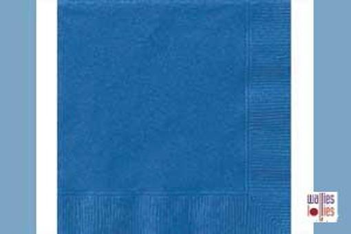 Dark Blue Napkins