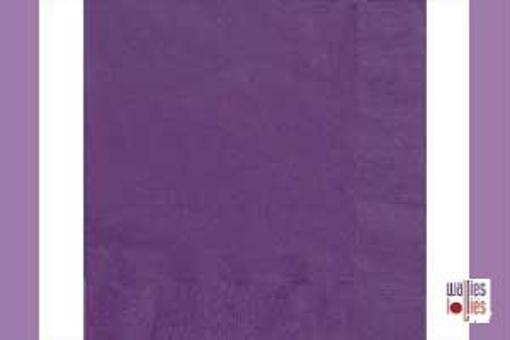 Dark Purple Napkins
