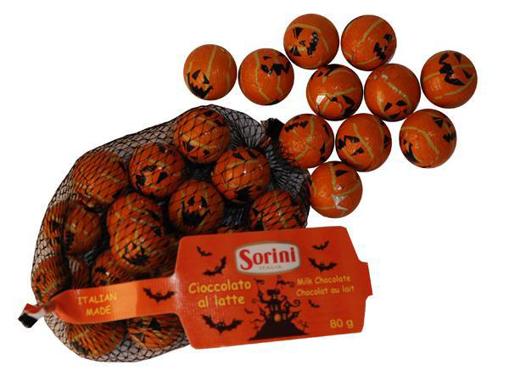 Foiled Pumpkins in 80g bag