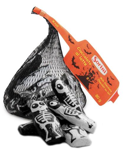 Foiled Skeletons in 80g bag