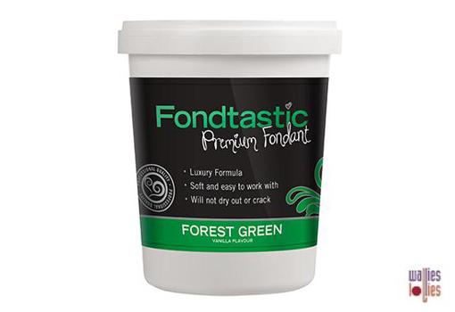 Fondtastic Fondant 2lb - Forest Green