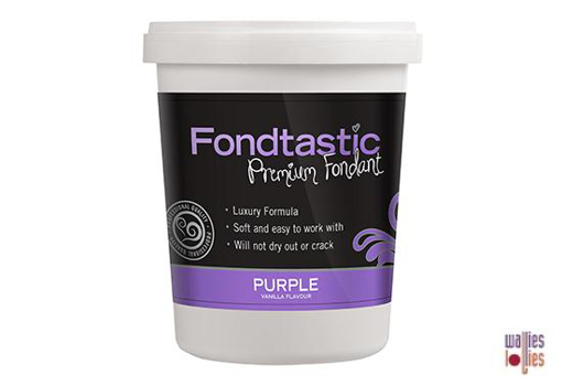 Fondtastic Fondant 2lb - Purple