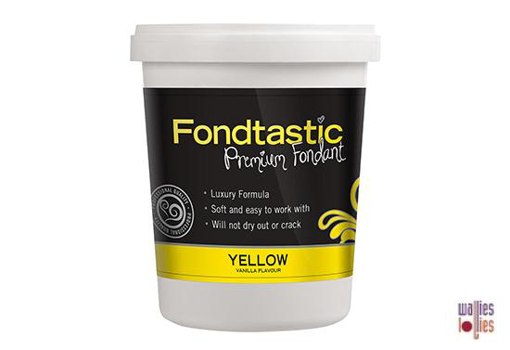 Fondtastic Fondant 2lb - Yellow
