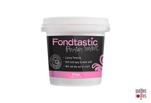 Fondtastic Fondant 8oz - Pink