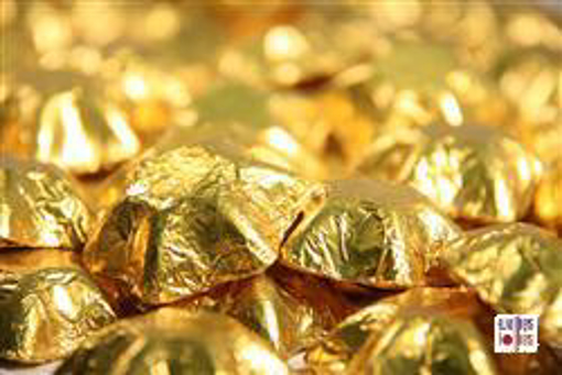 Gold Foiled Stars in 500g Bag