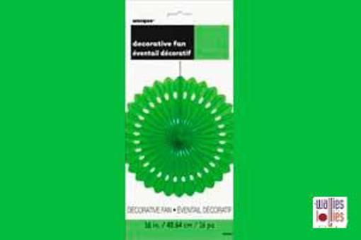 Green Decorative Fan