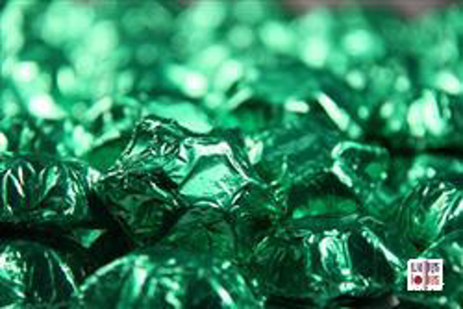 Green Foiled Stars in 500g Bag