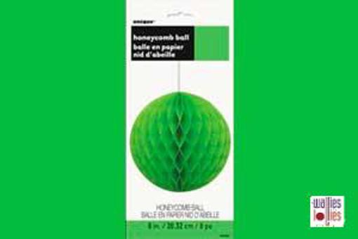 Green Honeycomb Ball