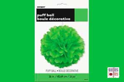 Green Large Puff Ball