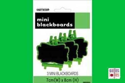 Green Mini Chalkboards