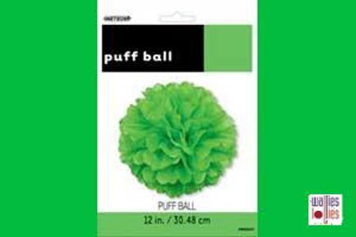 Green Small Puff Ball