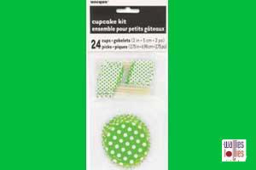 Green Spot Cupcake Kit