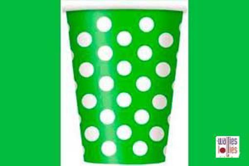 Green Spot Cups