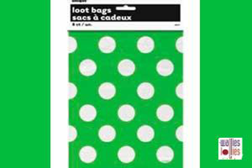 Green Spot Loot Bags