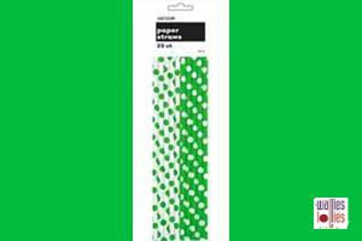 Green Spot Straws