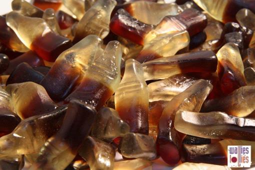 Gummy Cola Bottles in 1kg bag