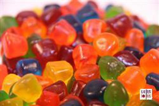 Gummy Dots in 1kg bag