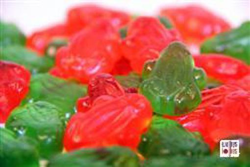 Gummy Frogs in 1kg bag
