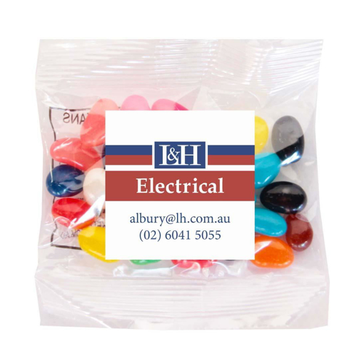 L&H  - 30g Mini Jellybeans $0.62 per bag