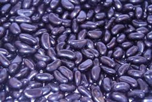 LARGE Black Jelly Beans in 1kg bag