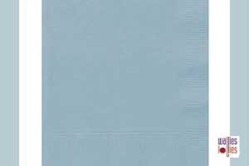 Light Blue Napkins
