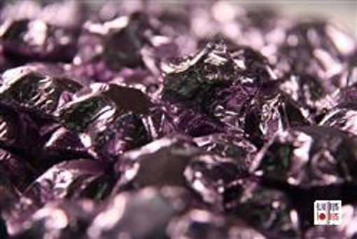 Lilac Foiled Stars in 500g Bag