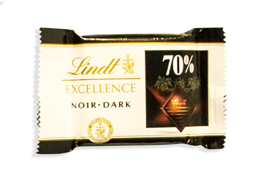 Lindt Excellence Dark Chocolates in 250g bag