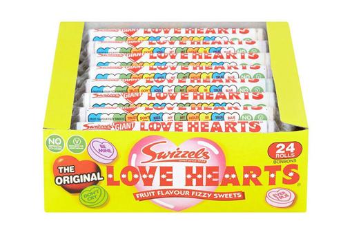 LOVE HEART ROLLS 24 PACK - PRE ORDER