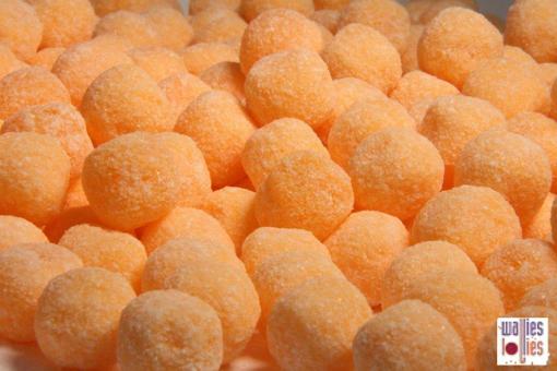 Orange Fizzoes in 1kg bag