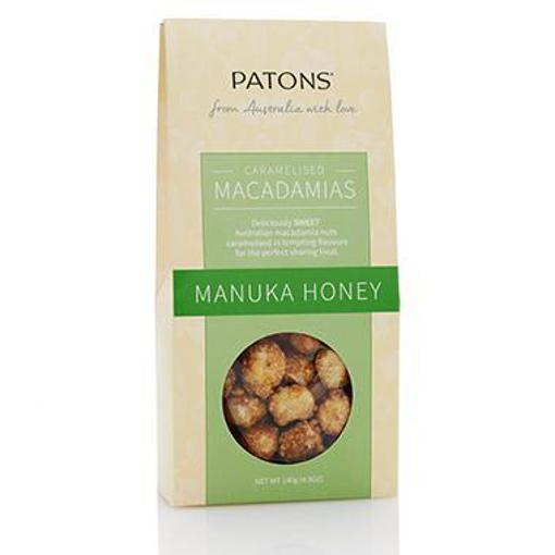 PATONS CARAMELISED MANUKA HONEY GIFT BOX 140g