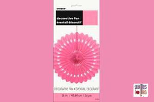 Pink Decorative Fan