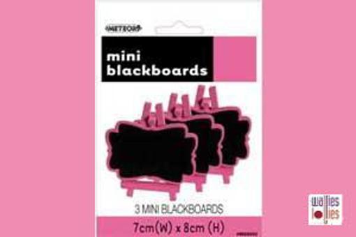Pink Mini Chalkboards