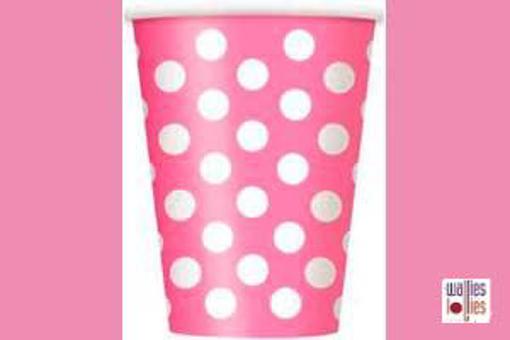 Pink Spot Cups
