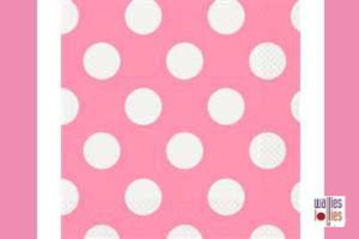 Pink Spot Napkins