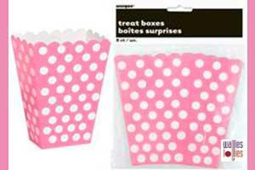 Pink Spot Treat Boxes