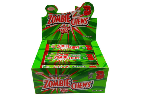PRE ORDER -ZOMBIE CHEW APPLE FLAVOUR 60 PACK