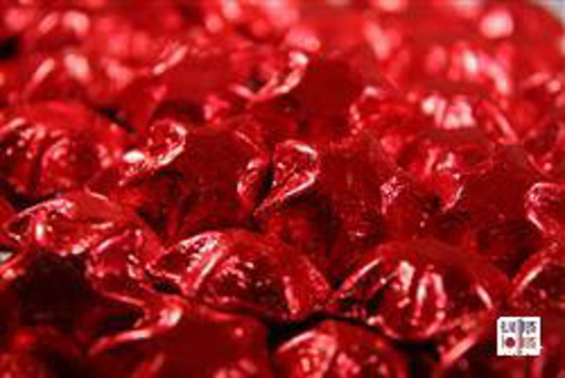 Red Foiled Stars in 500g Bag